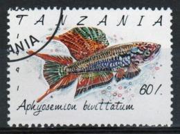Tanzania 1992 Single 60s Stamp From The Definitive Set On Marine Life. - Tanzania (1964-...)