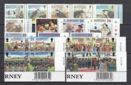 Alderney Nuovi: 2000 Annata Completa - Alderney
