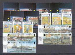 Alderney Nuovi: 2001 Annata Completa - Alderney