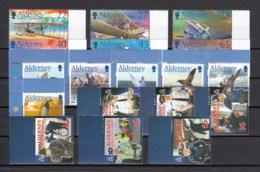 Alderney Nuovi: 2003 Annata Completa - Alderney