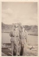 Foto 2 Deutsche Soldaten - 2. WK - 7,5*5cm (44176) - Krieg, Militär