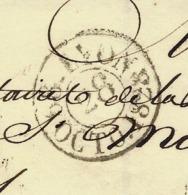 1828 LSC De Lyon Pour Senones Vosges VOIR SCANS - Marcophilie (Lettres)