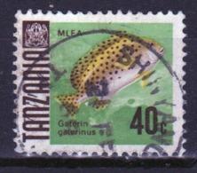 Tanzania 1967 Single 40c Stamp From The Definitive Set. - Tanzania (1964-...)