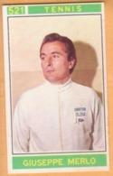 Figurina Sticker Campioni Dello Sport 1967-68 Panini - 521 GIUSEPPE MERLO - Tennis - Panini