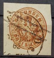 PREUSSEN 1861 - MLH / Envelope Stamp - (Mi 18) - 3 Silbergroschen - Preussen