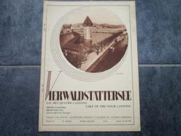 VIERWALDSTÄTTERSEE - Journal Des Etrangers - N°15 (26 Pages) - Toerisme