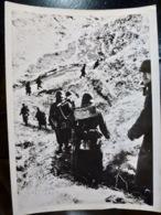 PHOTO Presse WW2 WWII : GEBIRGSJAGER Av MG-34 _ FRONT SUD _ 5.1.1942 - Oorlog, Militair