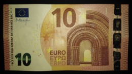 10 Euro U011G5 France Serie UE Charge 29 Draghi Perfect UNC - EURO