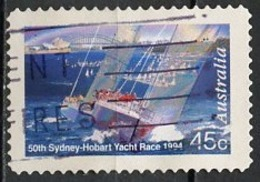 Australie - Australia 1994 Y&T N°1410 - Michel N°1442 (o) - 45c Course De Yachts - 1990-99 Elizabeth II