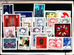 7165B) Germania Ddr-lotto Di Francobolli- MNH** - [6] Oost-Duitsland