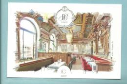 CPM Toulouse Brasserie Le Bibant Christian Constant - Illustrateur Axel Traverso - Toulouse