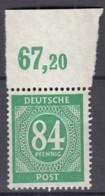 AllBes. GemAusg.  936 C P OR Ndgz, Postfrisch **, Mit Oberrand, Kontrollratsausgabe I, 1946 - Amerikaanse, Britse-en Russische Zone