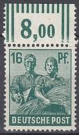 AllBes. GemAusg.  949 A W OR, Postfrisch **, Mit Oberrand, Kontrollratsausgabe II, 1947 - Zone AAS