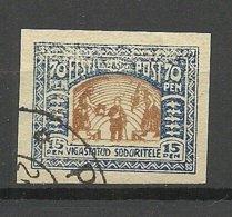 "FAUX Estland Estonia Michel 21 - 22 Fälschung Old Forgery FAKE O Marked ""Falsch"" At Back Side - Estland"