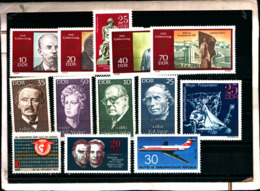 7166B) Germania Ddr-lotto Di Francobolli- MNH** - [6] Oost-Duitsland