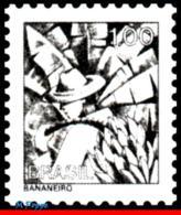 Ref. BR-1448 BRAZIL 1976 JOBS, NATIONAL PROFESSIONS,, BANANA PLANTATION WORKER, MNH 1V Sc# 1448 - Fruits