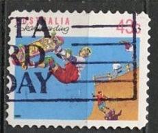 Australie - Australia 1990 Y&T N°1181 - Michel N°1223 (o) - 43c Planche à Roulettes - 1990-99 Elizabeth II