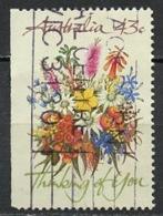 Australie - Australia 1990 Y&T N°1183g - Michel N°1226Dl (o) - 41c Bouquet De Fleurs - 1990-99 Elizabeth II