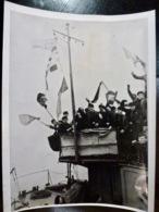 PHOTO Presse WW2 WWII : HITLERJUGEND Sur MINENSUCHBOOES Au DANEMARK _ 8.3.1941 - Oorlog, Militair