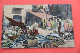 Napoli Mestieri Il Mercato Dei Cenci Ed. Ragozino Primi 1900 NV Non Comune - Napoli (Naples)