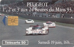 FRANCIA. Peugeot 905 7 Samedi 16h. With 2nd Logo Moreno. 50U. 07/93. 0405.1. (215). - Sport