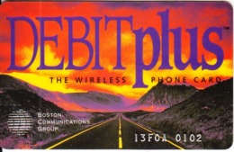 USA - Debit Plus, Boston Comm/Cellular Express Wireless Card, Exp.date 30/06/96, Used - Zonder Classificatie