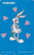 Télécarte Japon / 110-016 - BD COMICS - LAPIN BUGS BUNNY * TOSHIBA * - RABBIT Warner Bros Japan Phonecard - 105 - Comics