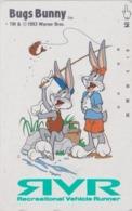 Télécarte Japon / 110-011 - BD COMICS - LAPIN BUGS BUNNY * PECHE  FISHING * - RABBIT Warner Bros Japan Phonecard - 109 - Comics