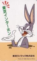 Télécarte Japon / 110-011 - BD COMICS - LAPIN BUGS BUNNY - RABBIT Warner Bros Japan Phonecard - 110 - Comics