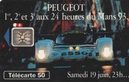 FRANCIA. Peugeot 905 9 Samedi 23h. 50U. 07/93. 0409.510. (213). - Sport