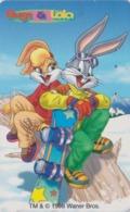 Télécarte Japon / 110-204342 - BD COMICS - LAPIN BUGS BUNNY * Série SPORT 8 * - RABBIT Warner Bros Japan Phonecard - 113 - Comics