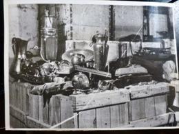 PHOTO Presse WW2 WWII : OBJETS D'ART VOLES Par Les ALLEMANDS à FIGUERAS _ FORTERESSE - Oorlog, Militair