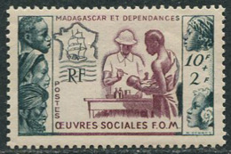 Madagascar 1950. Michel #419 VF/MNH. Overseas Fund. Medical Help. (Ts48) - Unused Stamps