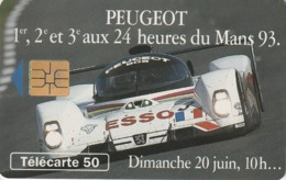FRANCIA. Peugeot 905 11 Dimanche 10h. 50U. 07/93. 0413. (212). - Sport