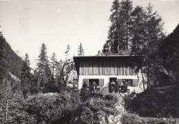 CANAZEI-TRENTO-BAITA=LOCIò DE CONTRIN)-CARTOLINA VERA FOTOGRAFIA-VIAGGIATA IL 24-3-1963 - Trento