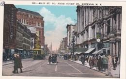 BUFFALO- MAIN STREET FROM COURT STREET - Buffalo