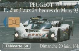 FRANCIA. Peugeot 905 12 Dimanche 16h. 50U. 07/93. 0415. (214). - Sport