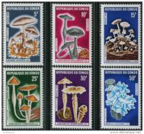 Congo 1970. Michel #232/37 MNH/Luxe. Mushrooms (Ts19/37) - Pilze
