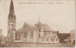 49 Martigné Briand L'église - Les Ponts De Ce