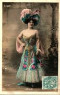 Artiste Femme 1900 - Letiloy, Cigale - Cabaret