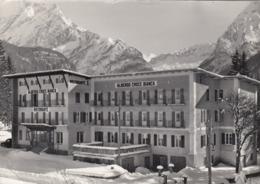 CANAZEI-TRENTO-HOTEL=CROCE BIANCA=CARTOLINA VERA FOTOGRAFIA VIAGGIATA IL 7-1-1982-PRODUZ. ANTECEDENTE-1955-960 - Trento