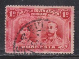 RHODESIA Scott # 102 Used - KGV & Queen Mary - Great Britain (former Colonies & Protectorates)
