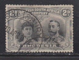 RHODESIA Scott # 103 Used - KGV & Queen Mary - Great Britain (former Colonies & Protectorates)