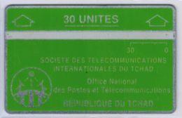 Holographique - Sans Encoche (no Notch) - 30 U Verte 805 A - Voir Scans Et Description - Tschad