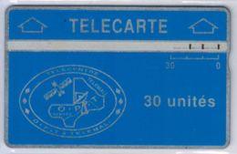 Holographique - Petite Encoche (small Notch) - 30 U Bleue 007 H - Voir Scans Et Description - Mali