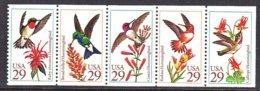 U.S.  2646 A   BOOKLET  PANE  **   HUMMINGBIRDS - Hummingbirds