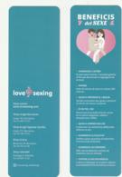 Bookmark Marcapaginas Marque-pages - LOVE SEXING - Marcapáginas