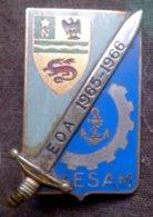 Pucelle Promotion D' Elèves Officiers D'Active De L' Ecole Supérieure D'Application Du Matériel - ESAM - EOA - Hueste