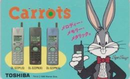 Télécarte Japon / 110-011 - BD COMICS - LAPIN BUGS BUNNY * TOSHIBA * - RABBIT Warner Bros Japan Phonecard - 116 - Comics