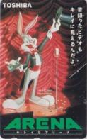 Télécarte Japon / 110-016 MATE - BD COMICS - LAPIN BUGS BUNNY * TOSHIBA * - RABBIT Warner Bros Japan Phonecard  126 - Comics
